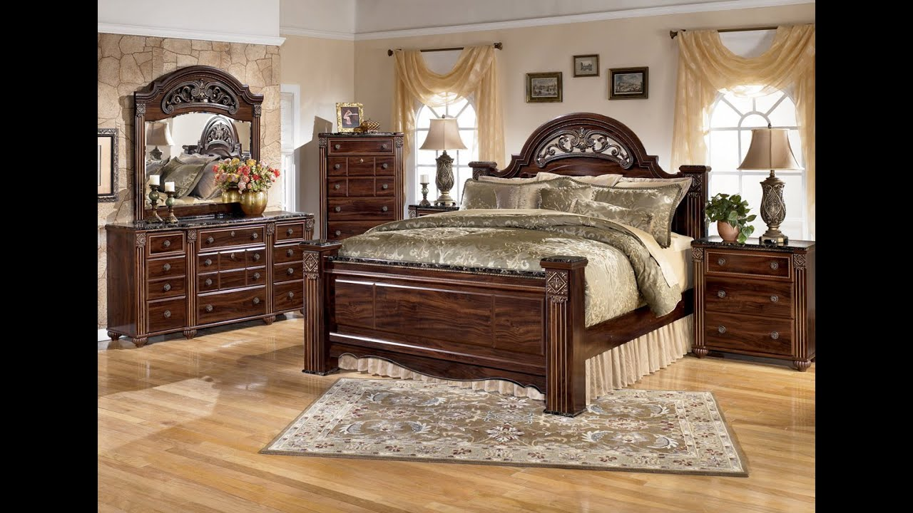 Ashley Furniture Shay Bedroom Set - YouTube