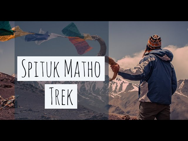 Spituk Matho Trek | Ladakh Tourism | Trek in Ladakh | Drone Shots 4K| Stok Kangri | Insane Traveller