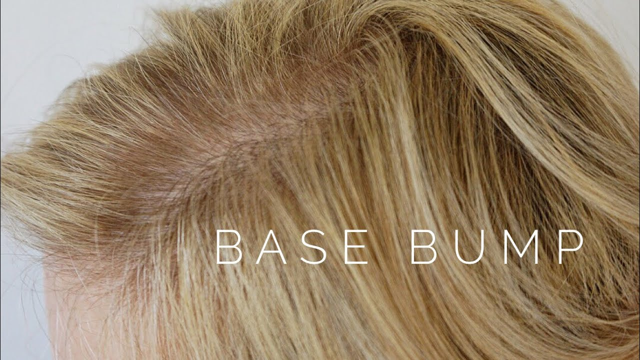 Base Bump Hair Tutorial Youtube