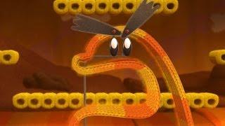 Yoshi's Woolly World 100% Walkthrough Part 5 - World 2-4, World 2-5 & World 2-6