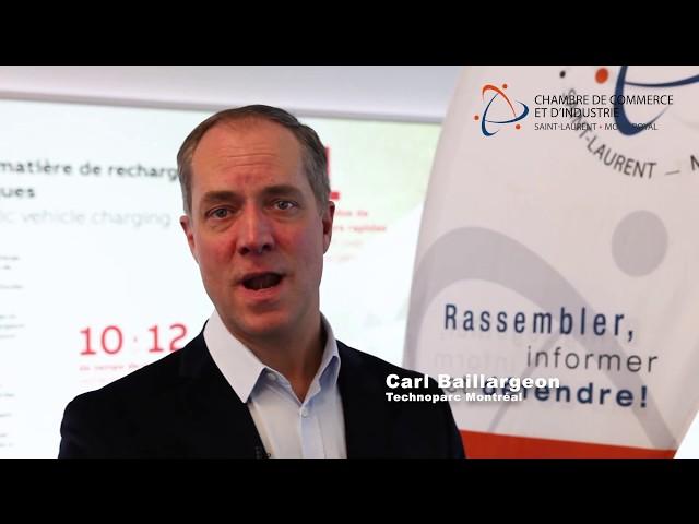 Témoignage de Carl Baillargeon - Technoparc Montréal