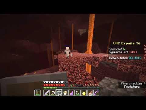 UHC España T6 Ep. 6 - Cálidas prisas [Minecraft Ultra Hardcore]