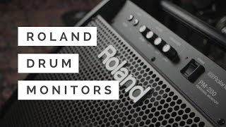 NEW Roland PM-200 & PM-100 Personal Drum Monitors