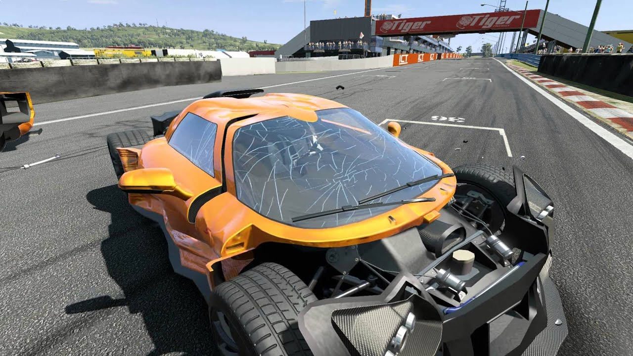 Project Cars Crash Testing Build 510 Pc Gameplay Video 1080p