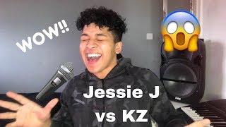 "Jessie J《Ain't Nobody》vs KZ Tandingan《Rolling in the Deep》""Singer 2018"" ||MY REACTION"