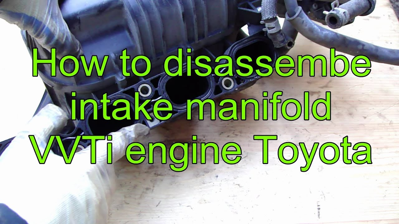 Toyota Corolla Repair Manual: Removal and installation of engine intake parts