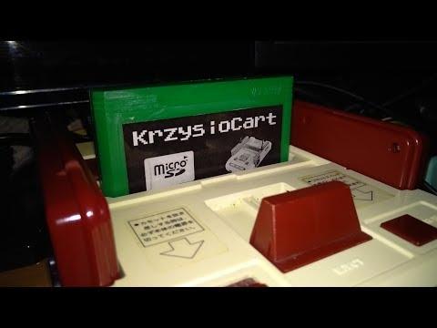 KrzysioCart - Recenzja polskiego FlashCarda do Famicoma