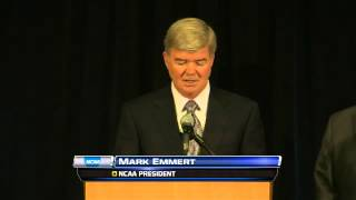 NCAA President Sanctions Statement