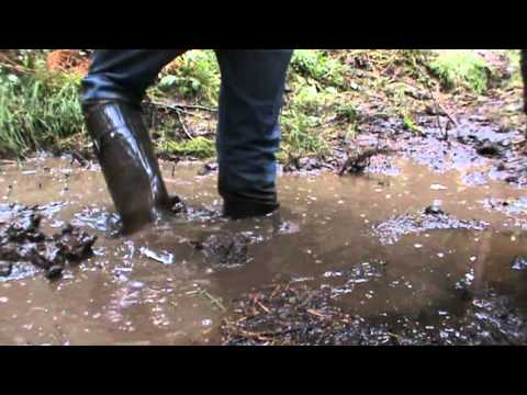 Rubber boots in water and mud M2U01070.MPG