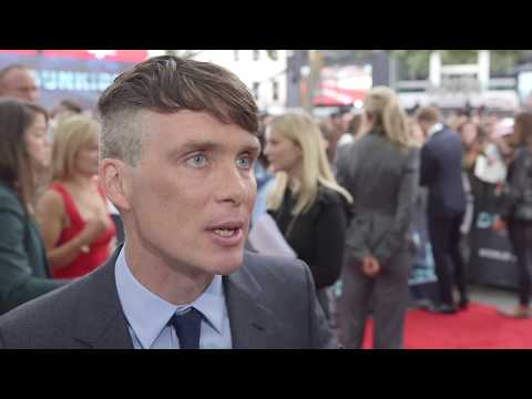 Dunkirk World Premiere Interview - Cillian Murphy