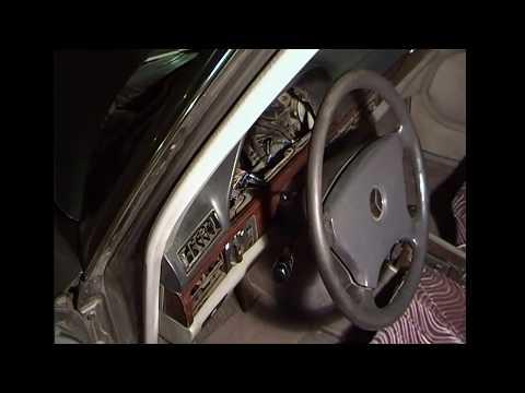 Самоделкин со стажем. Mercedes W 126-500 SEL. Снятие замка зажигания.