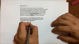 2018 KPSS ÇIKMIŞ SORULARIN ÇÖZÜMÜ (Öğrenme/Gelişim/Reberlik) SALİH YILDIRIM