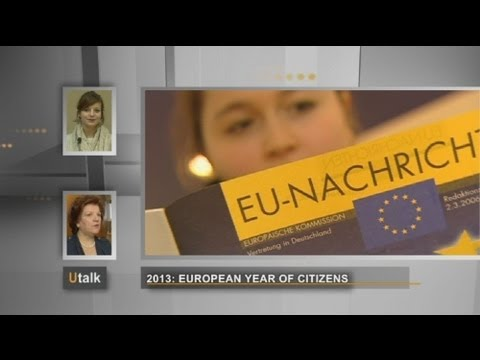 euronews U talk - 2013: European Year of Citizens