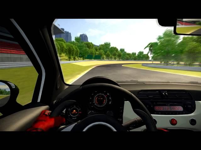 [Assetto Corsa] Fiat 500 Abarth Esseesse at Green Coast Circuit