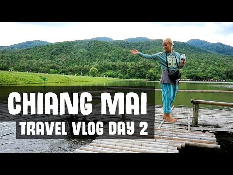 CHIANG MAI TRAVEL VLOG: WAT DOI SUTHEP, WAT UMONG, HUAY TUNG TAO LAKE | Day 2