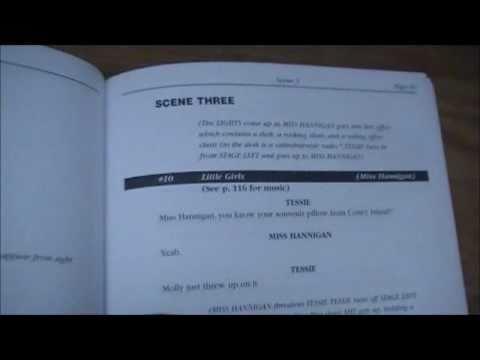 My Annie Jr. Scriptbook (I'M ANNIE!!!!) - YouTube