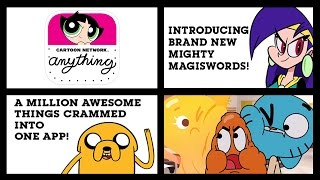 Cartoon Network Anything - A Nonstop Stream of Fun and Frantic Activities (iOS/iPad Gameplay)