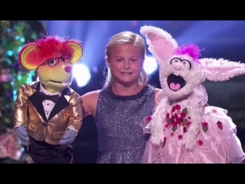 Darci Lynne Brings Together Her Puppet Friends For A GRAND FINALE ACT!!! America's Got Talent 2017