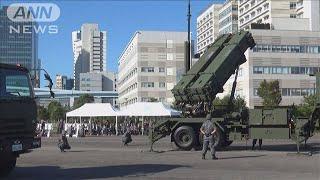 北朝鮮のミサイルに備えよ 都心で「PAC3」展開訓練(19/10/09)