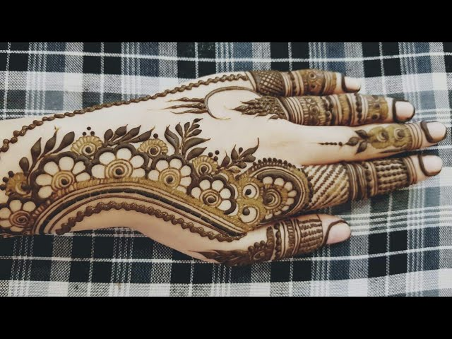 Eid Special Henna Design 2018 7 Heena Vahid Resepnusa