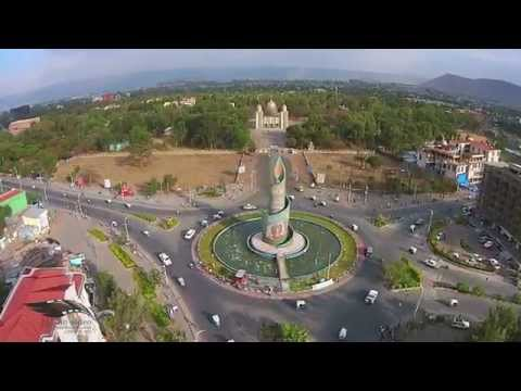 Hawassa from the sky.  mesfin video Hawassa Drone shoot