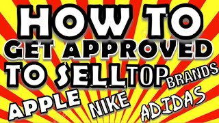 How To Get Approved Fast Amazon Restricted Categories   Selling Eligibility Hack