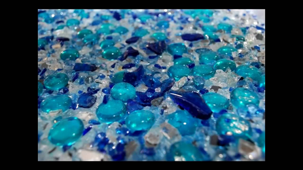 Rainbow Glass Countertop Collection Youtube