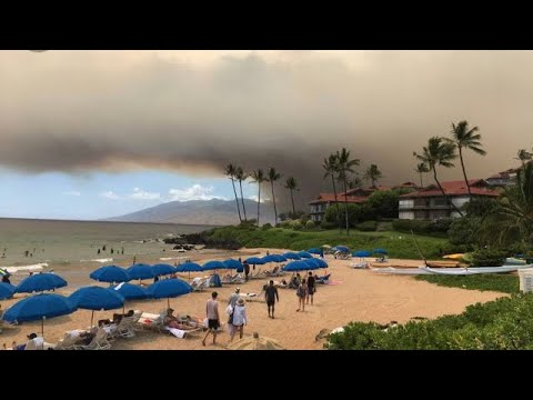 Thousands In Maui Evacuated After Brush Fire Rages In Hawaii