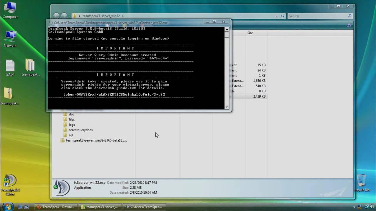 teamspeak 3 server setup