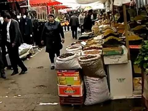 Tour of Bazaar in Ganja, Azerbaijan