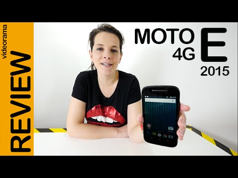 Motorola Moto E 4G (2 gen) 2015 review en español