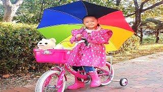Rain rain go away | Riding on rainy day with LoveStar | Nursery rhymes & Kids song