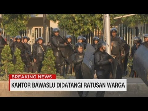 Breaking News! Kondisi Terkini di Tanah Abang, Petamburan & Thamrin