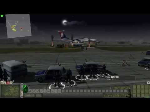 Aircraft hijacking (Men of War Cold War Mod)