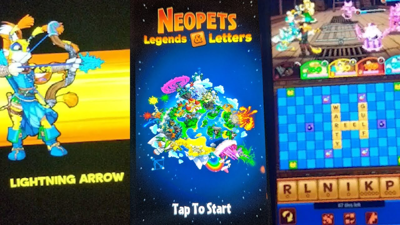 Exclusive First Look at Neopets Legends & Letters New Mobile Game