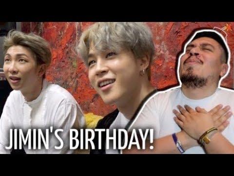 [BANGTAN BOMB] Jimin's Surprise Birthday Party REACTION