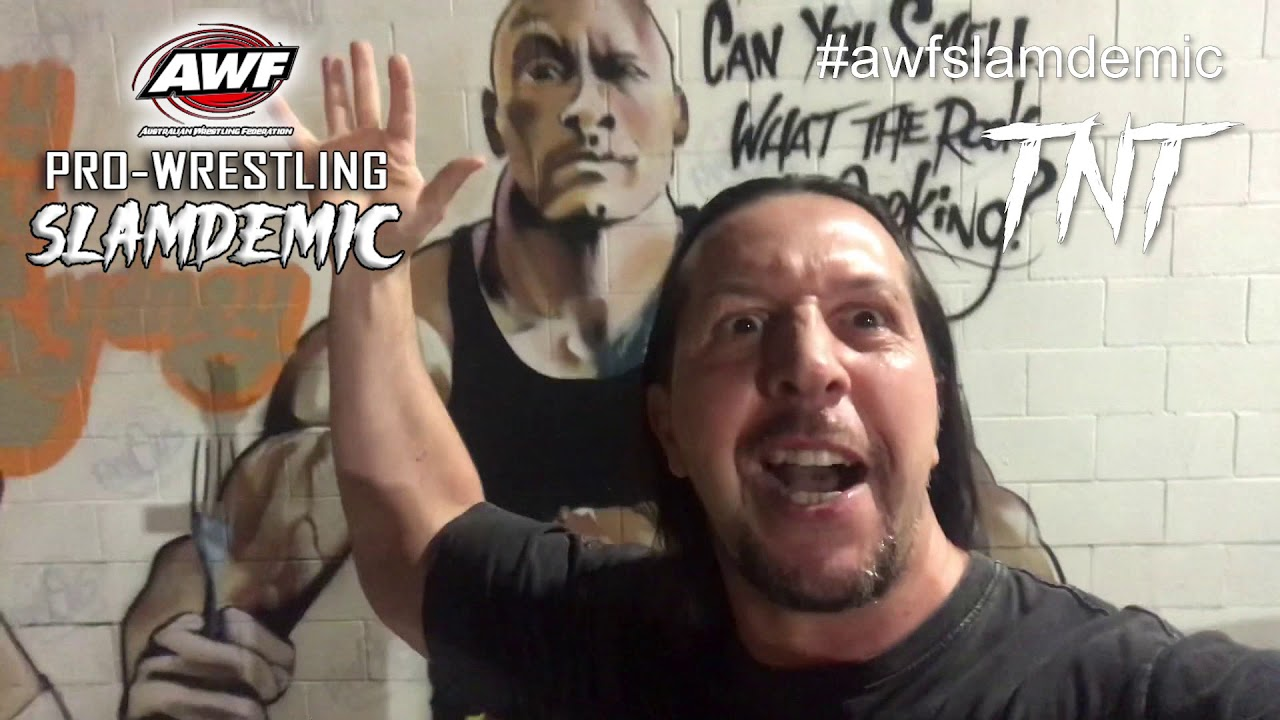 TNT Challenges for a Tag Team To Step Up at AWF Pro-Wrestling Slamdemic