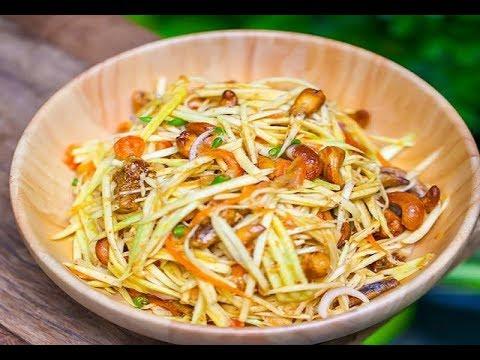 Street Food Spicy Mango Salad ��️������