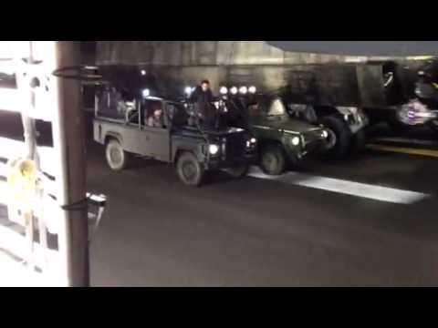 Fast & Furious 6 ' End Scene Jeep Fight' Stunt Doubling Joe ...