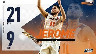 Ty Jerome scores 21 in Virginia's Final Four win
