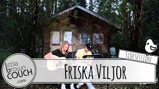 Friska Viljor - Dreams - Acoustic Lakeside   Sidesession - Little Brown Couch