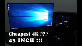 Quick Review: Acer ET430K Monitor / Cheapest 4K monitor