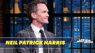 Neil Patrick Harris Got A Series of Unfortunate Events Tattoo