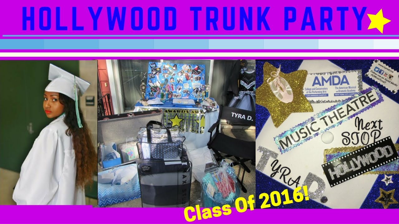 HollyWood Trunk Party Vlog