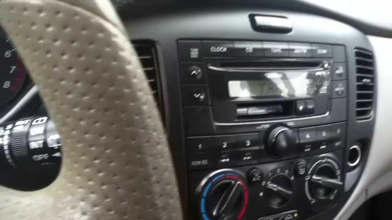 Coldstart Two Mazda MPV'S