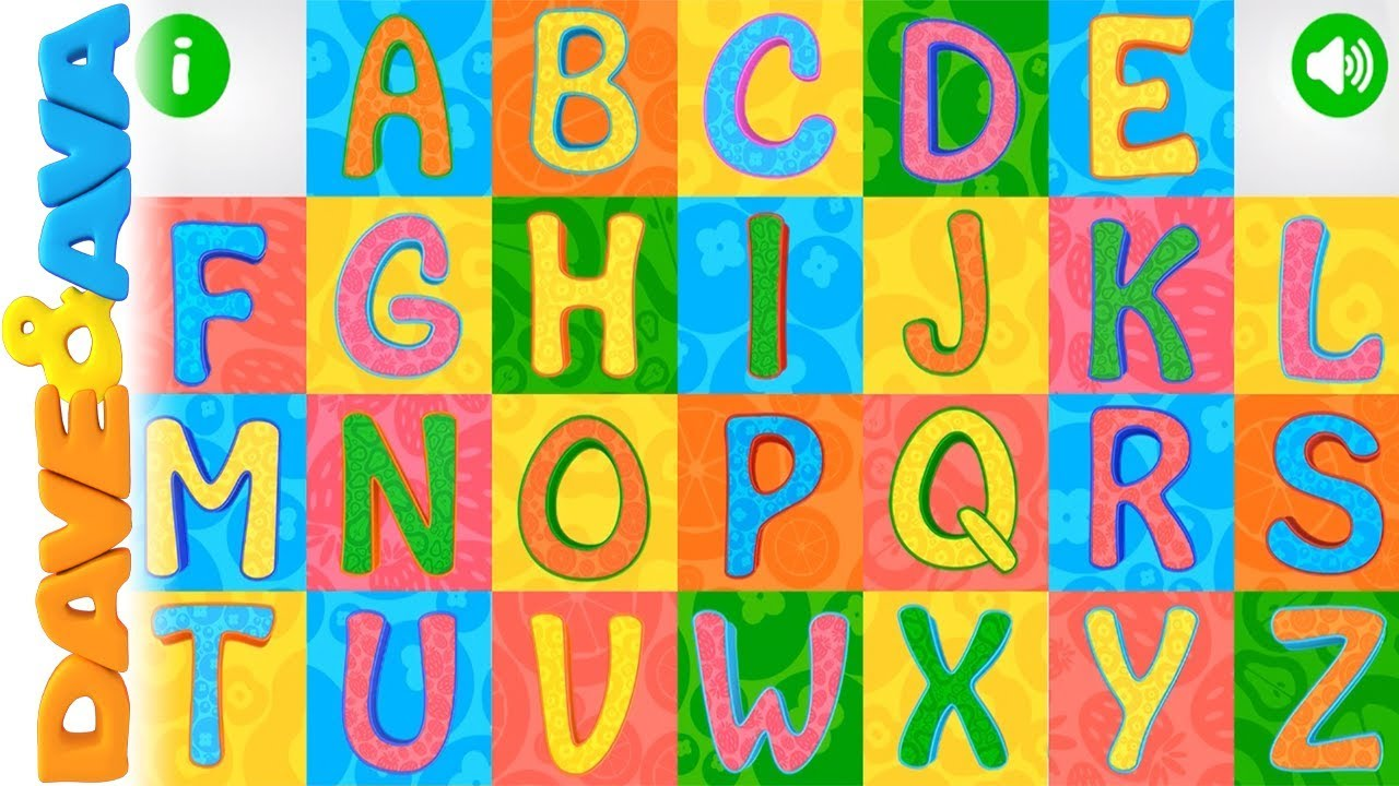 Learn Abc Amp Tracing Phonics For Kids From Dave And Ava