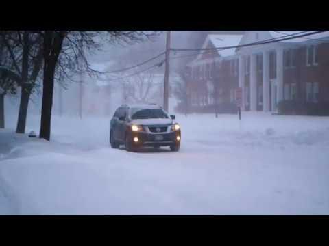 Snowstorm Stella - March 2017 - Saratoga Springs, NY - Canon C300 - Slow Motion