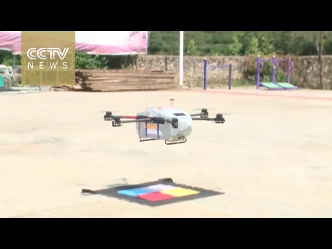 First drone delivery route opens in east China