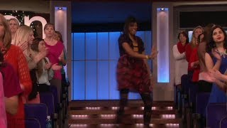 Exclusive! Commercial Break Dancer on Ellen show