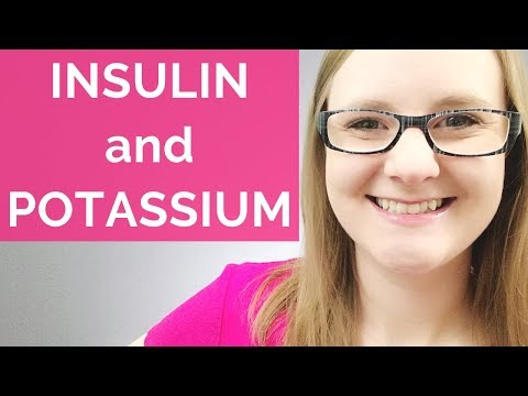 INSULIN AND POTASSIUM RELATIONSHIP